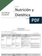 Informe Nutrición y Dietética   (2010-2011)