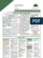 Bulletin n°2 - 11 10 2011