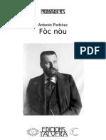 Antonin PERBÒSC. Fòc nòu