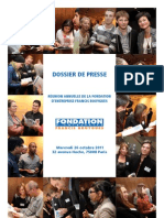 Dossier Presse Fondation Bouygues