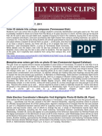 Thurs., Oct. 27 News Summary