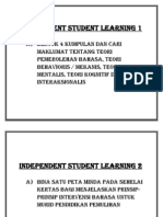 Independent Student Learning 1