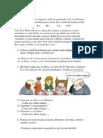 Pontuação exercicios Andreia (soluções)