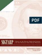 US Treasury SIGTARP