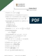 Trigo Problem Sheet