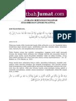 Khutbah Jumat Tanggung Jawab Setiap Muslim.