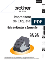 QL-570 Manual Português