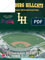 Lynchburg Hillcats Marketing Brochure