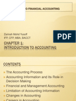 Ch 1 Intro to Accounting