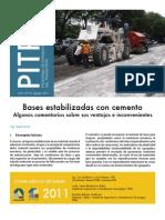 Boletin Prita 20 Bases Estabilizadas Con Cemento