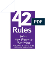 42 Rules for a Web Presence That Wins