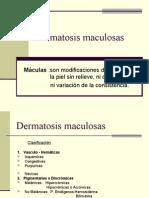 Dermatosis maculosas