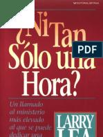 Larry Lea Ni Tan Solo Una Ho