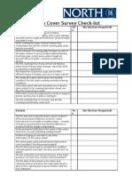 Hatch Cover Survey Check-List
