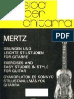 MERTZ - Exercises and Easy Studies guitar