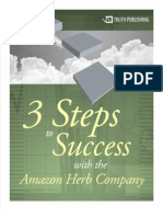 Adams Mike - 3 Steps to Success With the Amazon Herb Company