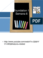 Foundation 1semana 6
