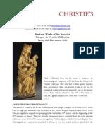 Press Release -The Marquet de Vasselot Collection - VE