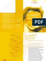 Guide Respect Au College Dpt Du Rhone