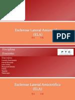 Biologia - ESCLEROSE LATERAL AMIOTRÓFICA