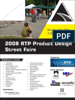 2008 RTP Product Design Street Faire Vendor Guide