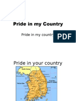 Pride in My Country