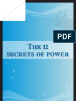 the 12 Secrets of Power