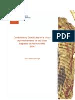 Condiciones y Obtaculos en El Uso de Sitios Sagrados Huicholes