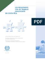 06 Síntesis de los Resultados de la Encuesta de Trabajo Infantil y Adolescente