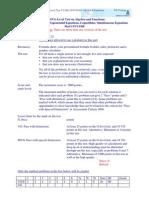 Solution+VG MVG Level+V2+MaCNVC08+K1+Algebra+&+Functions