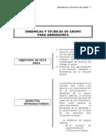 DINÁMICAS Y TÉCNICAS DE GRUPO