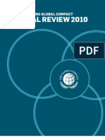 UN Global Compact Annual Review 2010