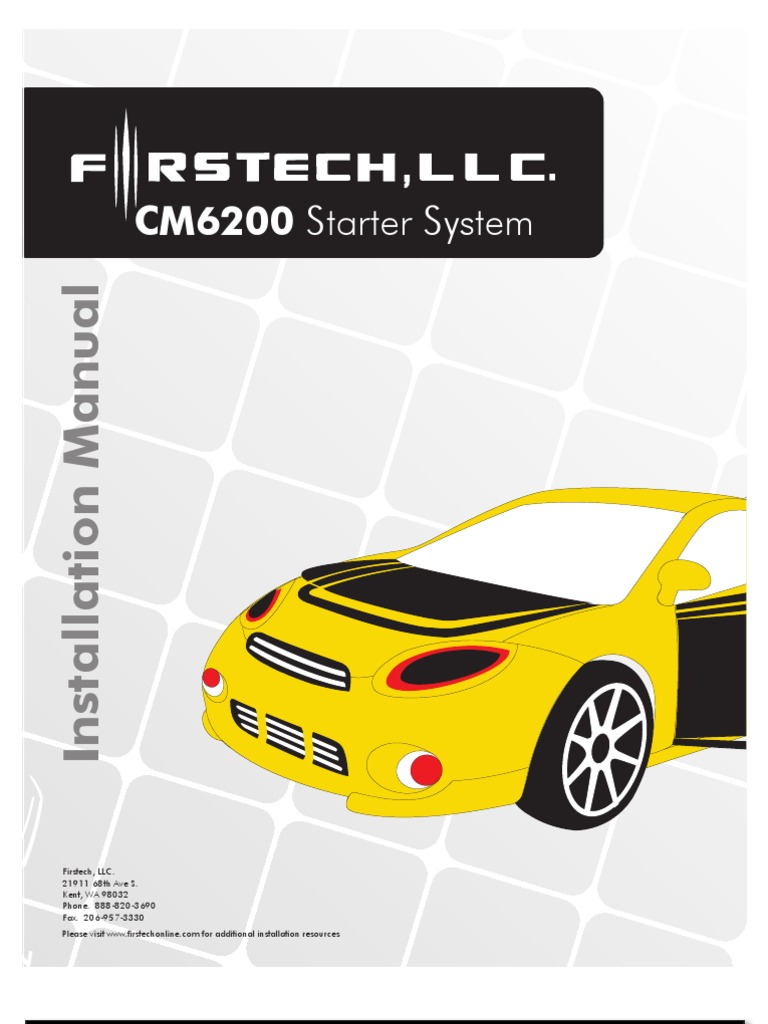 Fillable online installation manual compustar fax email print.