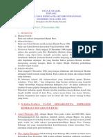 Data & Analisa Yang Diduga Terlibat Kerusuhan Poso Desember 1998 Dan April 2000