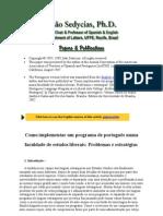 Artigos Novos > Como Implementar Um Programa de Português Numa
