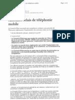 L'arrêt du Conseil d'Etat sur les antennes relais de téléphonie mobile