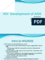 HIV- Development of AIDS
