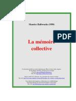 HALBWACH La Memoire Collective[1]