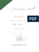 Caderno Das Chefs