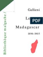Gallieni Lettres de car