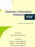 Presentación Sistemas e Informática Industrial - Duarte - Mi