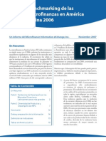 2006 Latin America Caribbean Micro Finance Analysis and Bench Marking Report - Spanish