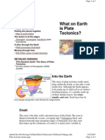 Plate tectonics home page