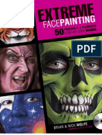 36699813 Extreme Face Painting for Halloween