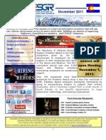 11 COESGR Newsletter November 2011