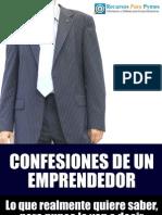 Confesiones de Un Emprendedor