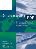 Green Giants Environmental Policies of the United States and the European Union