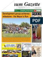 Platinum Gazette 28 October 2011