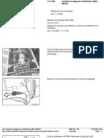 RA Contrôle Du Calage de La Distribution (M43 M43TU)