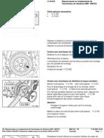 RA Dépose Repose Ou Rem Placement de l'Amortisseur de Vibrations (M43 M43TU)